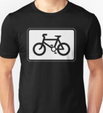 A Sign to Bicycle T-Shirt