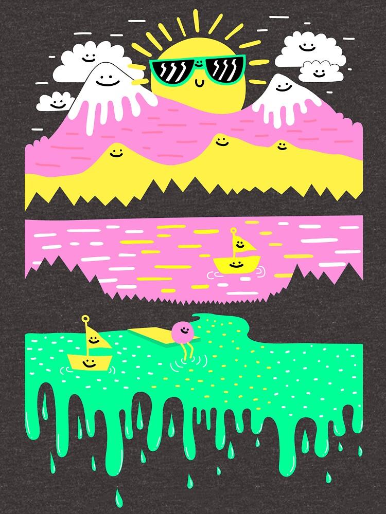 Happy Lake by blitzcheese