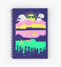 Happy Lake Spiral Notebook