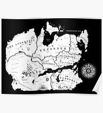 Thedas Map Poster