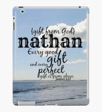 Nathan iPad Case/Skin