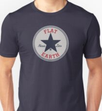 Flat Earth (Converse) T-Shirt
