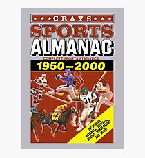 Gray's Sports Almanac Photographic Print