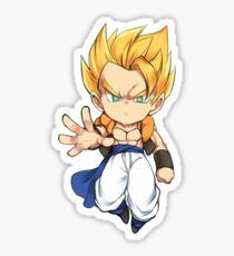 ! Gotenks ! Chibi Dragon Ball Z Sticker