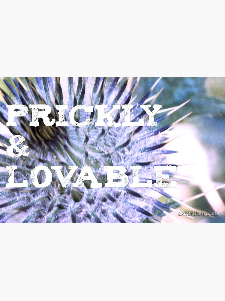 prickly & lovable by extortion-com