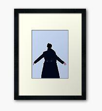 Sherlock The Reichenbach Fall Framed Print