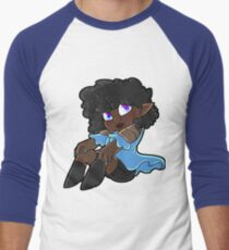 Veronica Chibi Men's Baseball ¾ T-Shirt