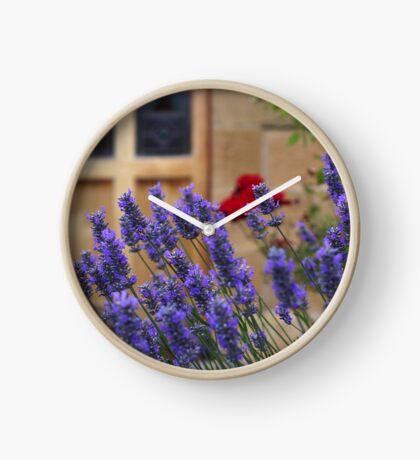 lavender gardens Clock