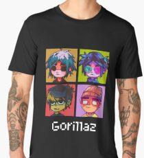 Gorillaz Pixel Men's Premium T-Shirt