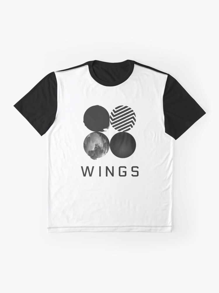 Alternate view of BTS - Wings Graphic T-Shirt