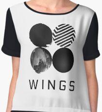 BTS - Wings Chiffon Top