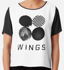 BTS - Flügel Chiffontop