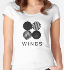 BTS - Wings Women's Fitted Scoop T-Shirt