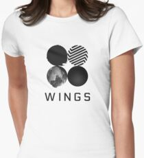 BTS - Wings Women's Fitted T-Shirt