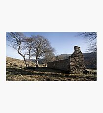 Lost land in the strath Photographic Print