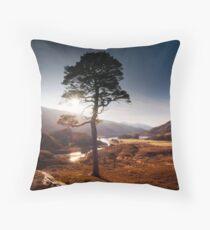 Pauline's tree Throw Pillow