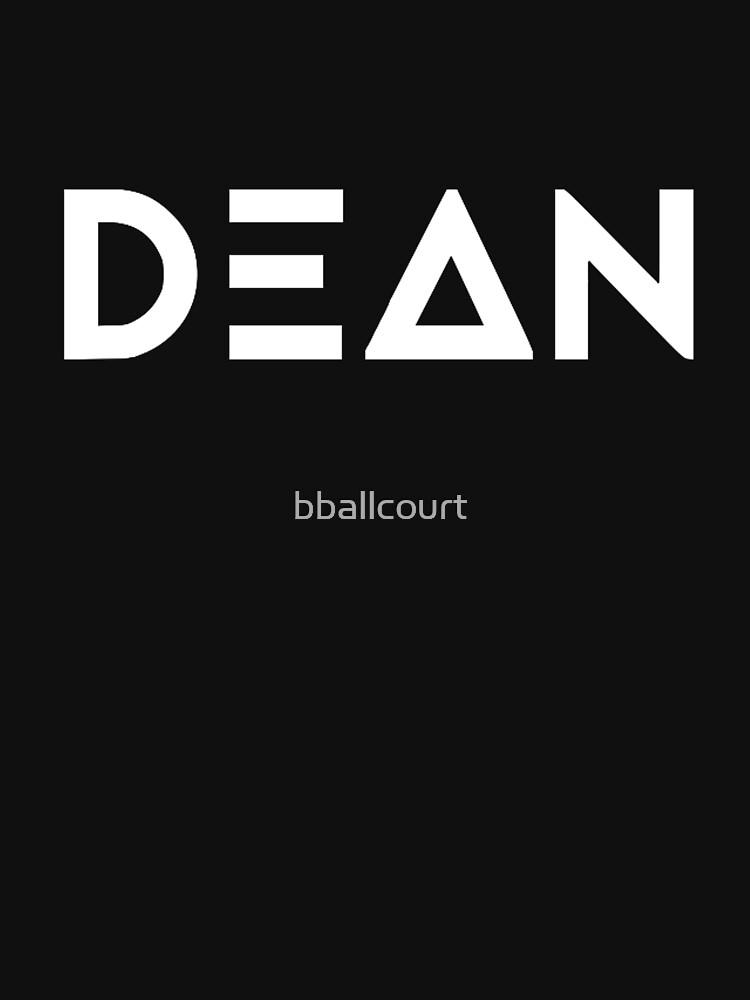 DEAN - Logotipo de bballcourt