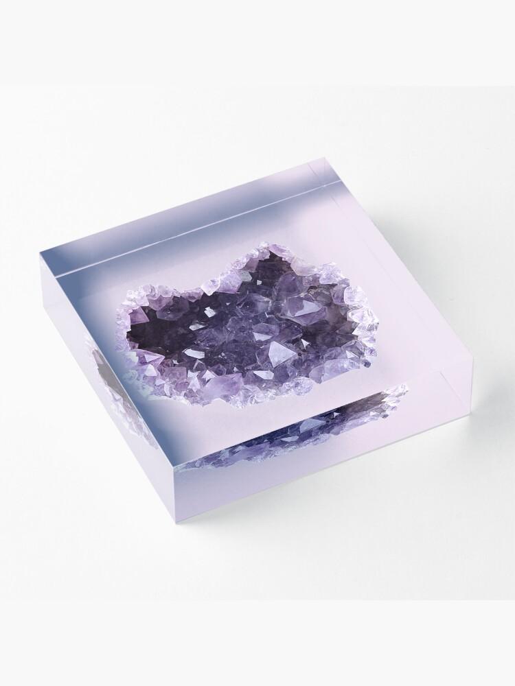 Alternative Ansicht von Geode Acrylblock