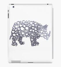 Half-tone Rhino iPad Case/Skin