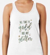 All that is Gold Racerback Tank Top