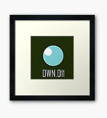 DWN.011 - Bubble Man Framed Print
