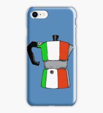 italian coffeepot iPhone Case/Skin