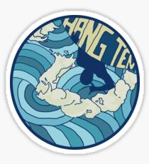Hang Ten  Sticker