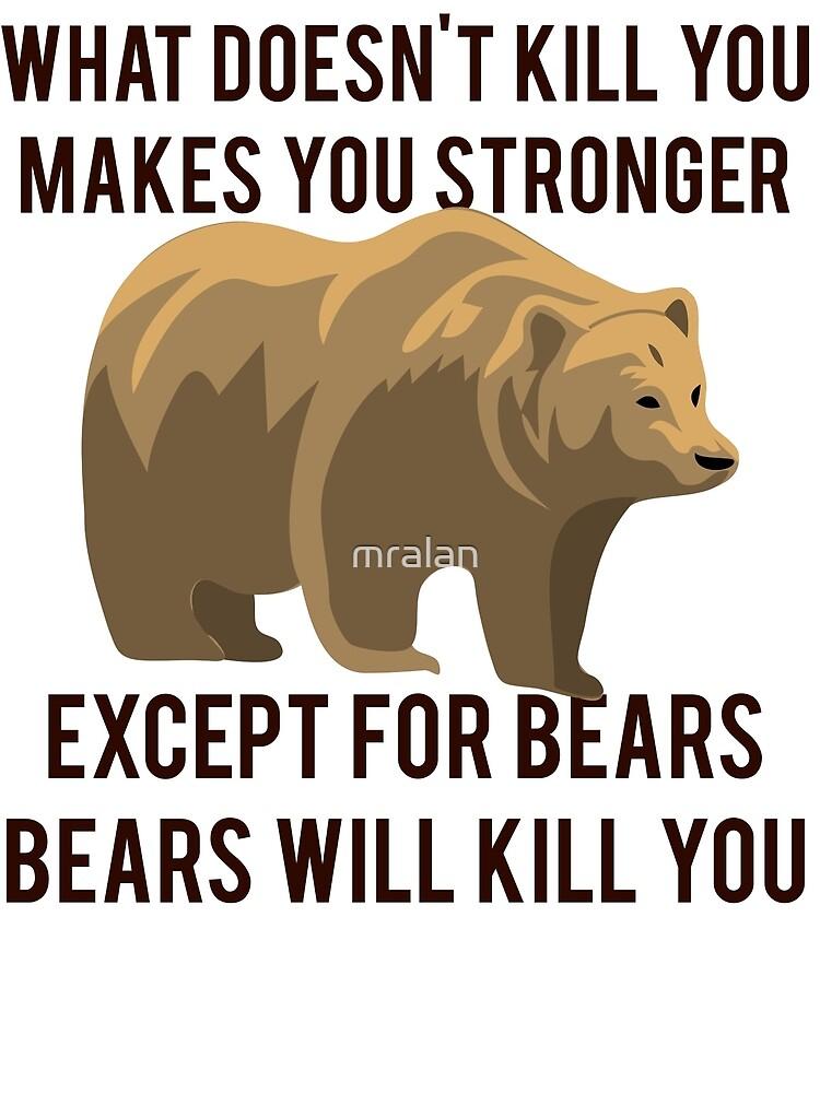 Bears Will Kill You by mralan