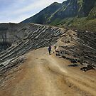 A Path on Kawah Ijen by Maximilian John