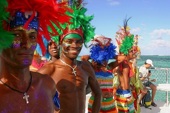 Festival Entertainers at Punta Cana, Dominican Rep by chord0