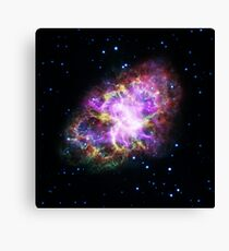Crab Nebula Supercomposition Canvas Print