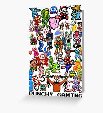 NES GAMING Greeting Card