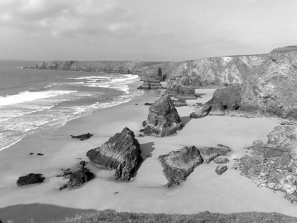 Bedruthan Steps by maddyjhart