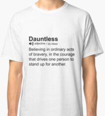 Camiseta clásica Intrépido