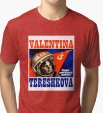 Valentina Tereshkova Tri-blend T-Shirt