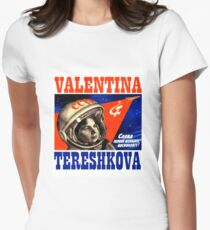 Valentina Tereshkova Women's Fitted T-Shirt