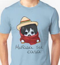 Mikasa, su casa. Unisex T-Shirt
