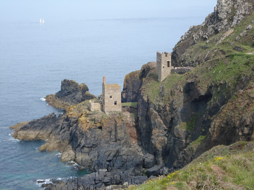 Botallack Mine by maddyjhart