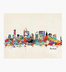 manchester skyline Photographic Print