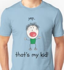 Yep that's my kid T-Shirt