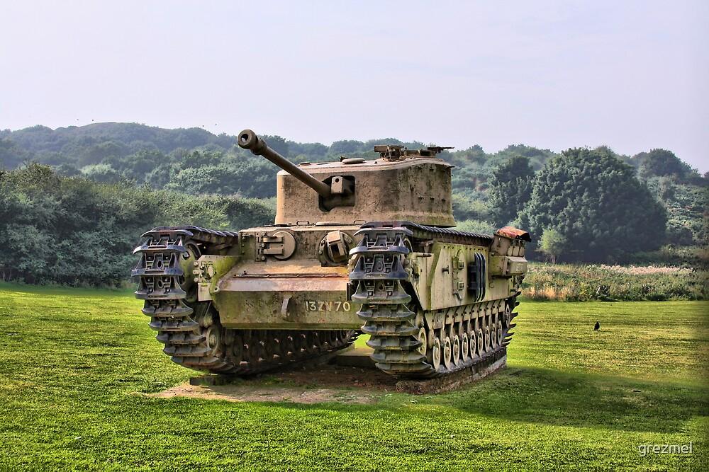 Tank - HDR by grezmel
