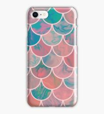 Marble scales iPhone Case/Skin