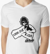 Look Out Kid! It's somethin' you did by lilterra.com Men's V-Neck T-Shirt