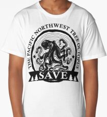 Save the Pacific Northwest Tree Octopus Long T-Shirt