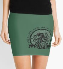 Save the Pacific Northwest Tree Octopus Mini Skirt