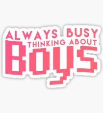 Charlie XCX - Boys Sticker