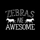 Zebras are awesome by jazzydevil