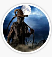 Evil scarecrow Sticker