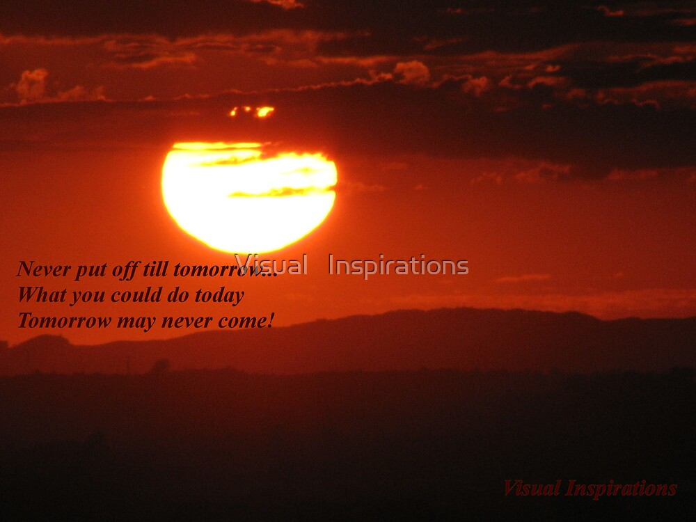 """""""Don't Let  The Sun Go Down On Me"""" by Visual   Inspirations"""