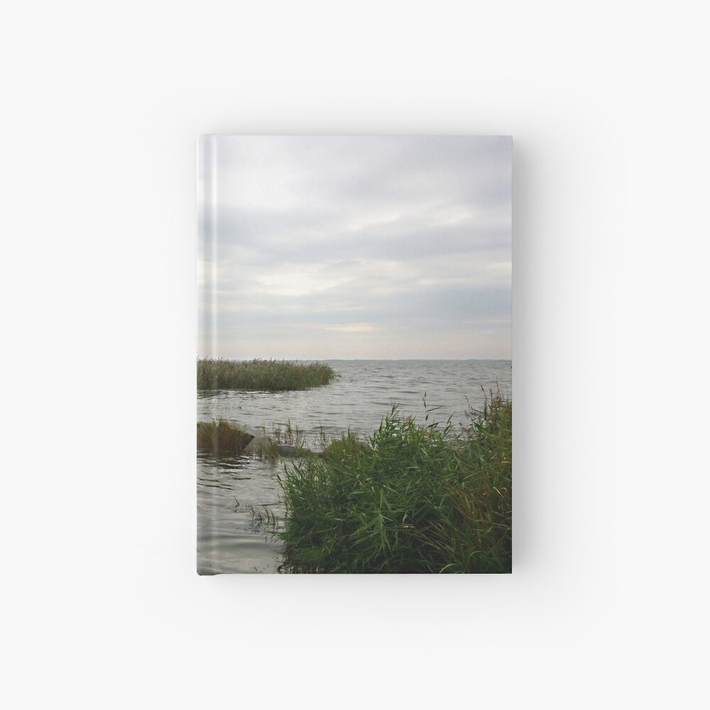 Lunch time at the backwaters Hardcover Journal